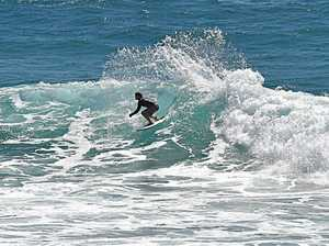 Waves on way to brighten up overcast weekend