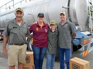 Veterans unite to run a donation drive for farmers