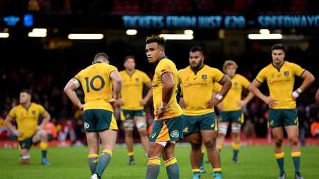 2018 was the worst Wallabies season in 60 years. Picture: Getty