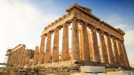 It may be one of the oldest spots on this list, but tourists expected more of the Acropolis of Athens. Picture: iStock