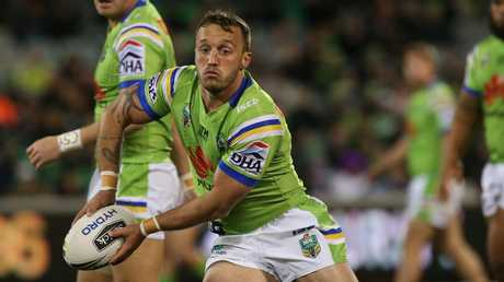 Josh Hodgson has the ability to turn a game for the Raiders. Picture: Kym Smith