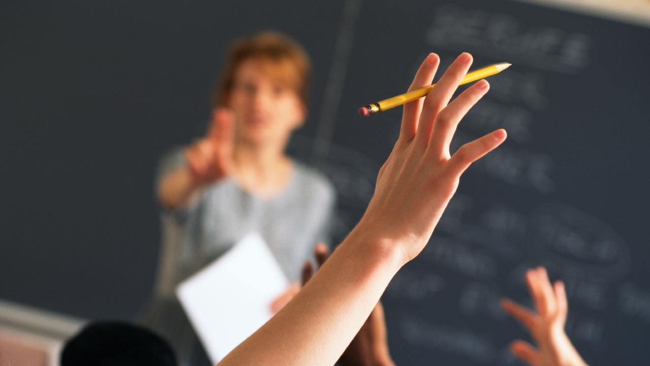 Tasmanian classrooms are increasingly becoming overcrowded. Picture: THINKSTOCK