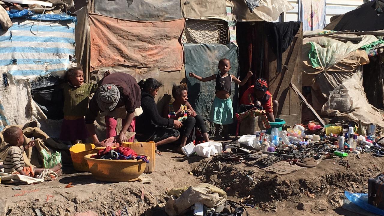 Central Coast dentist Tony Collins visited Madagascar slums in 2016.
