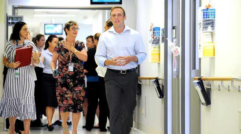 Health Minister Steven Miles. Picture: AAP/John Gass