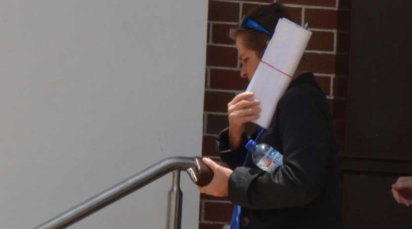 Irene Juhas leaves the Innisfail Magistrates Court on Friday after being sentenced for horrific animal negligence charges. Pic: ELISABETH CHAMPION