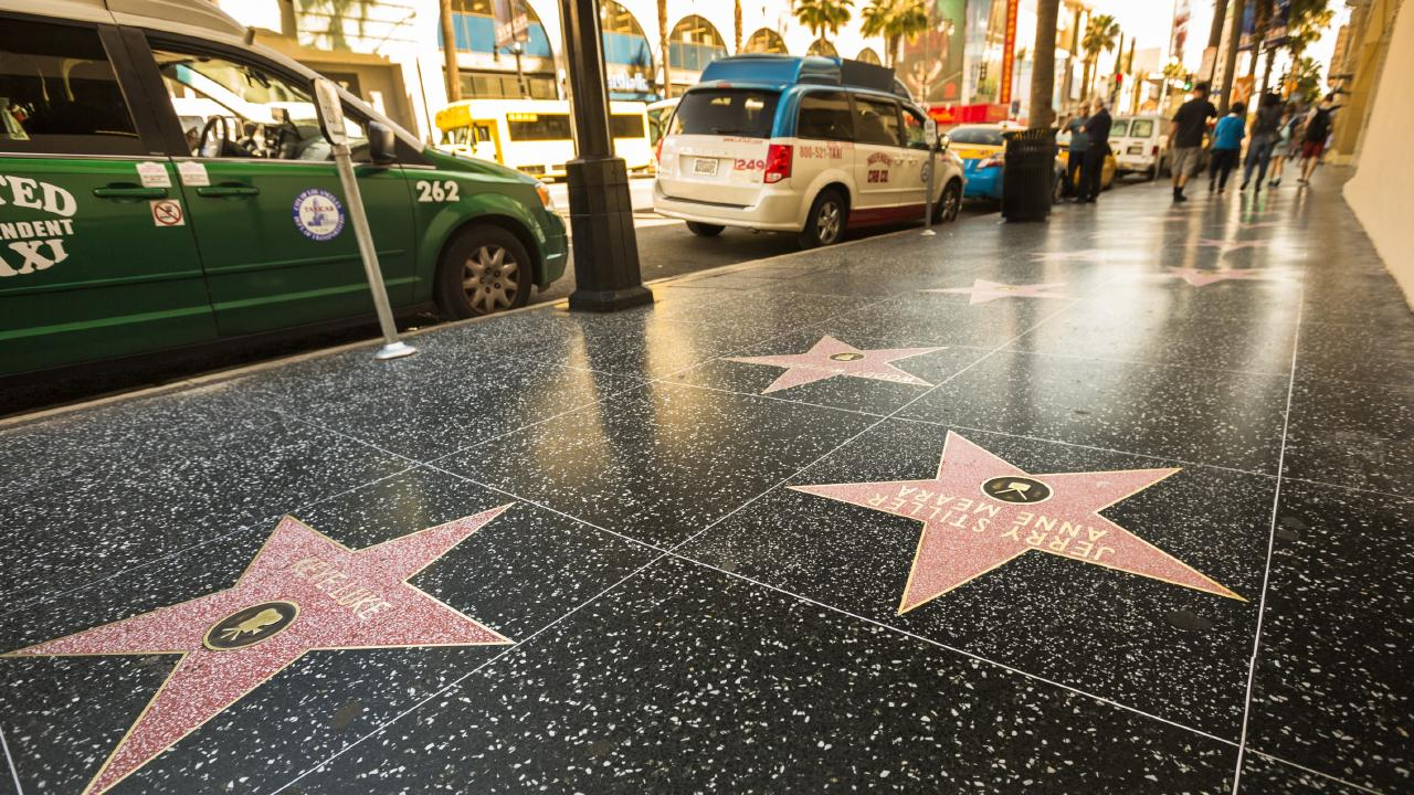 The Hollywood Walk of Fame was considered to be the most disappointing tourist attraction in the world. Picture: iStock.