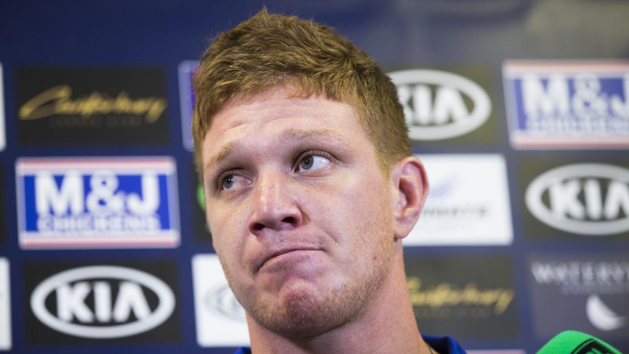 Canterbury Bulldogs controversial prop Dylan Napa avoided a ban. Picture: Dylan Robinson