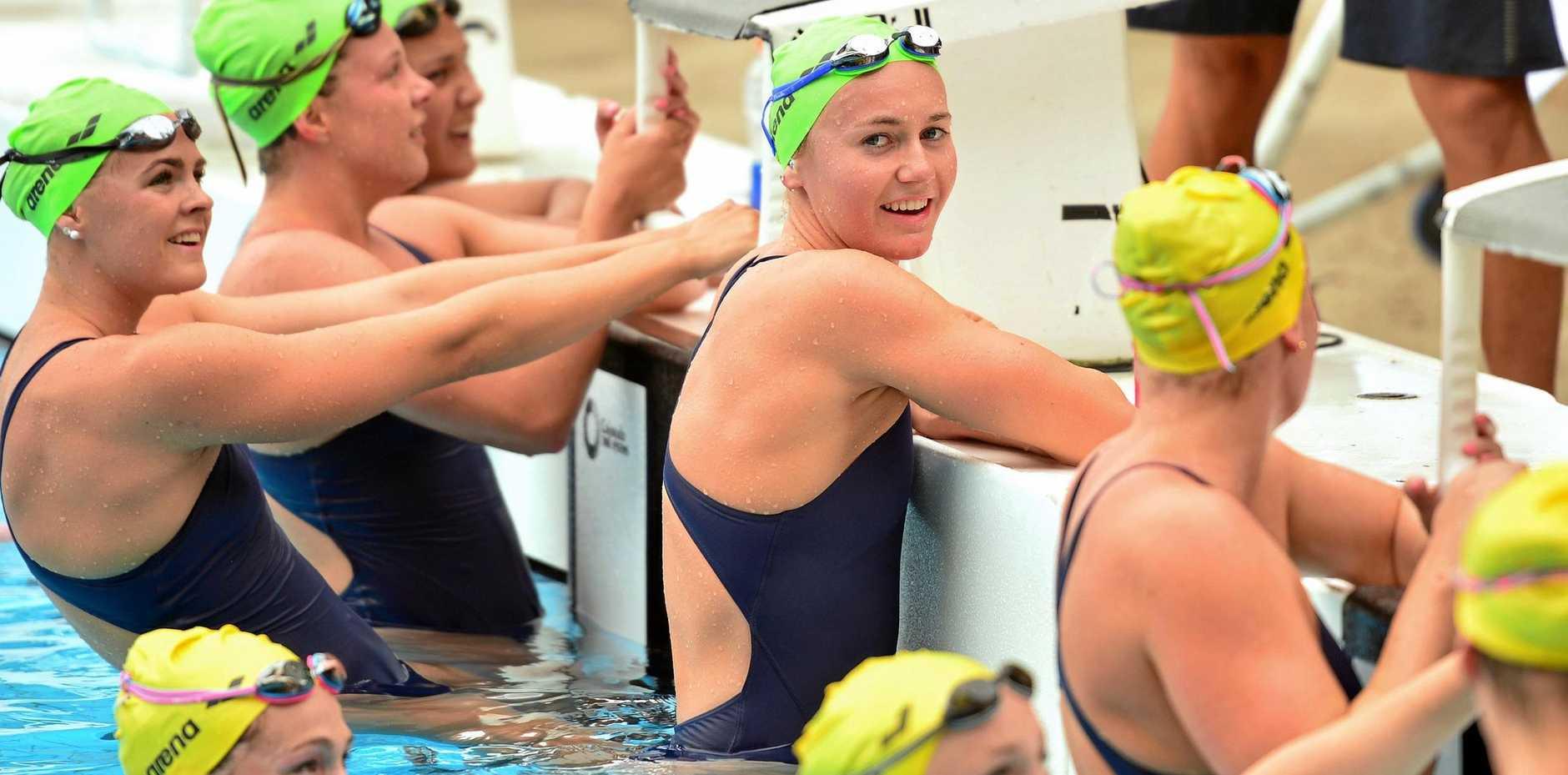 Date ariane how to win swimming