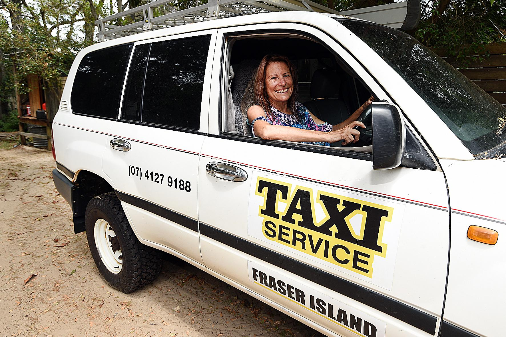TOURIST TALE: Lisa Walker from Fraser Island Taxis spoke to a family member of the two people attacked by dingoes on Fraser Island.
