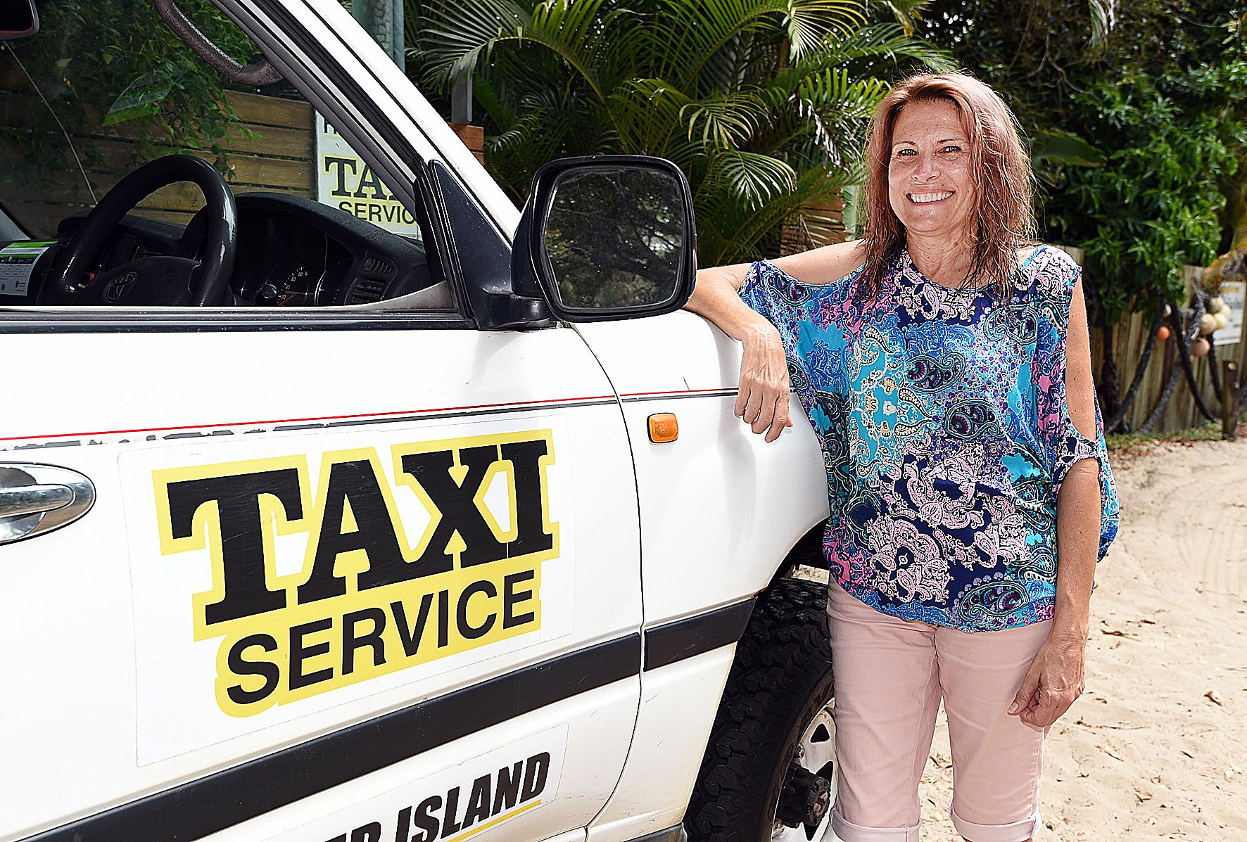 Fraser Island - Lisa Walker from Fraser Island Taxis at Eurong.