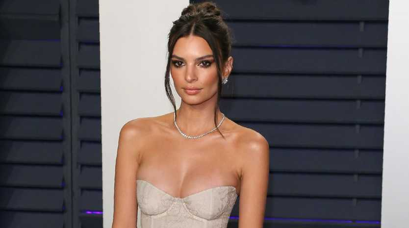 Emily Ratajkowski is in the midst of a bizarre property dispute in New York. Picture: AFP