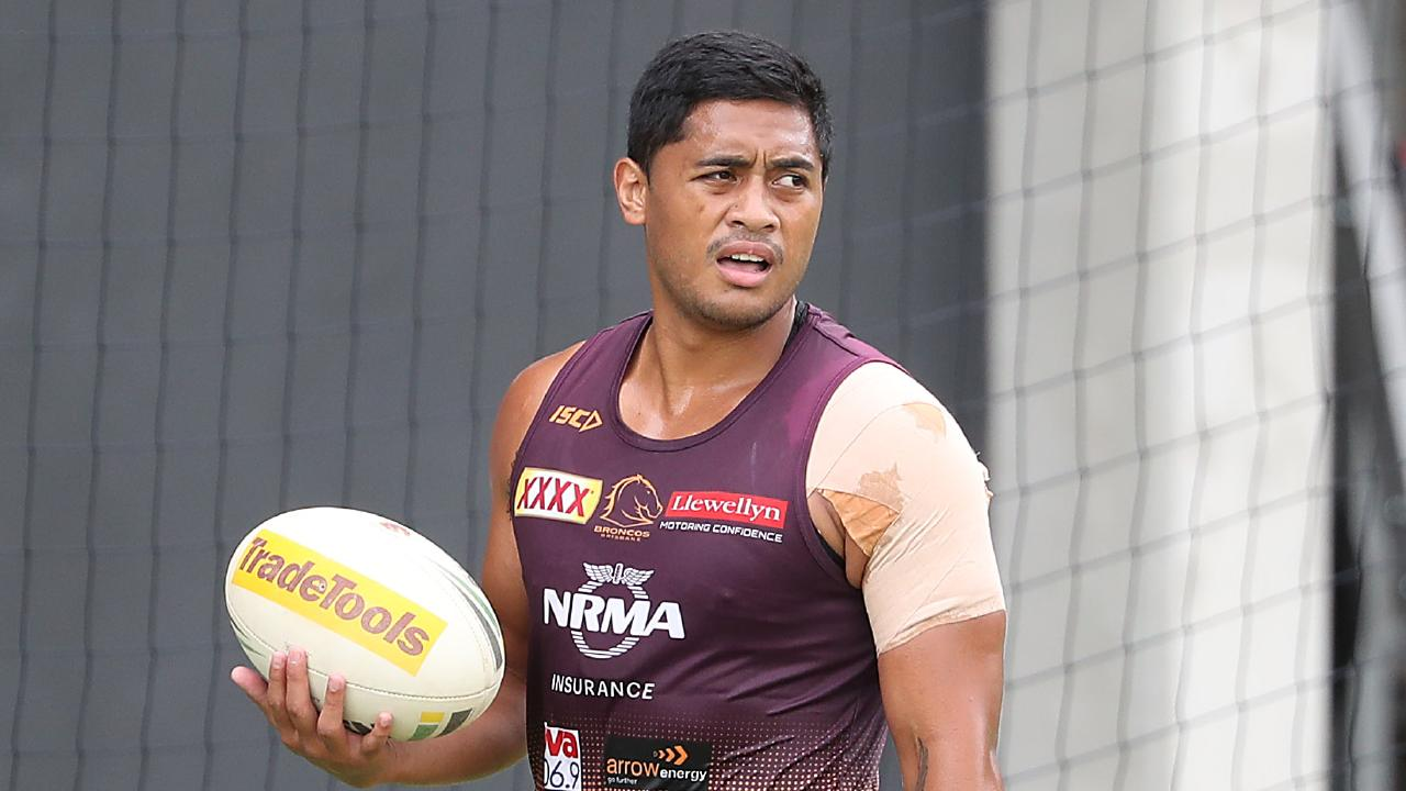 Anthony Milford is the man that needs to fire this year for the Broncos. Picture: Peter Wallis