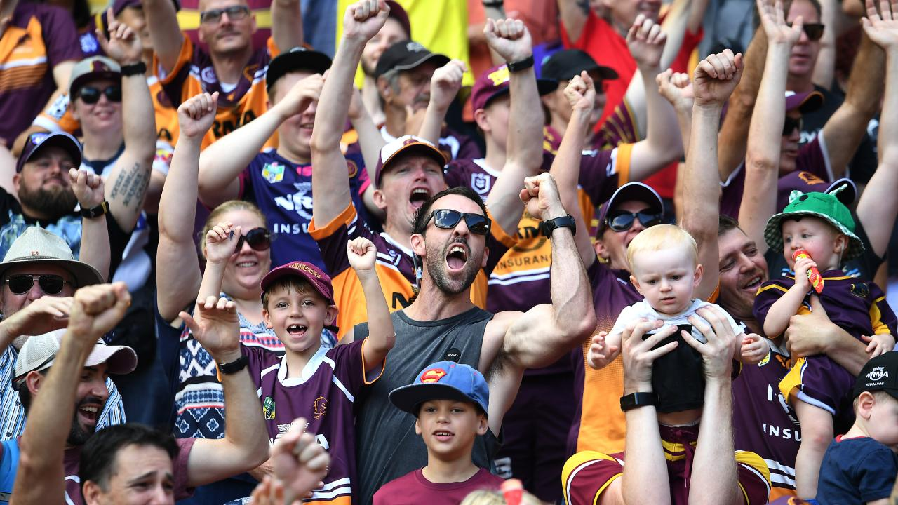 The NRL must look to Brisbane for expansion, believes Buzz Rothfield. (AAP image, John Gass)