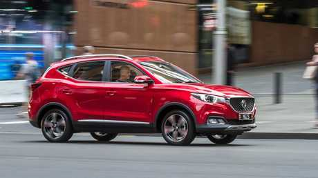 The MG ZS isn't the best driving SUV. Photo: Thomas Wielecki