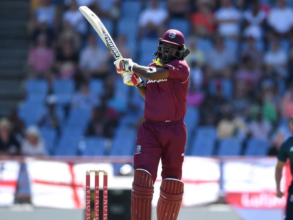 Gayle was like a hurricane at the crease.
