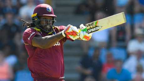 Chris Gayle is on another level right now.