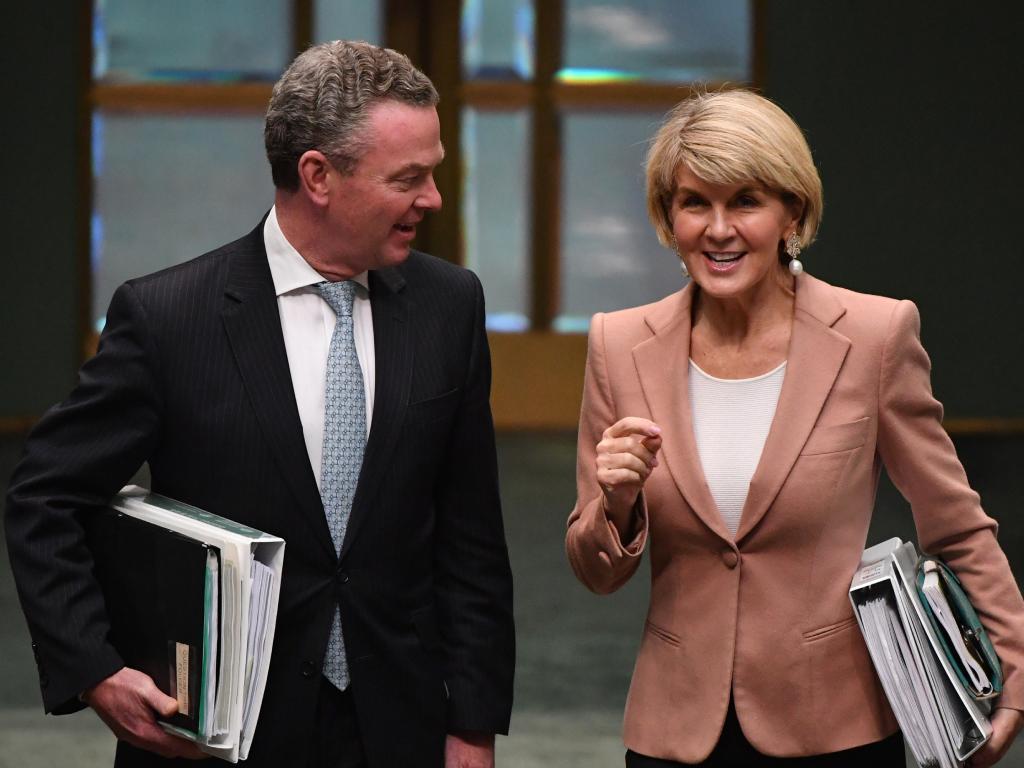 Bishop felt confident she could have beaten the Opposition Leader Bill Shorten.