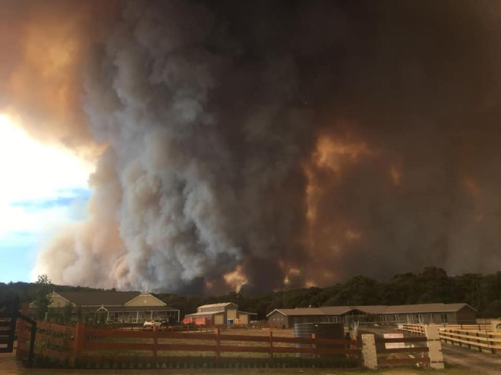 Amber Pantano took this photo at Maryknoll, near bunyip State Park on Saturday afternoon. Picture: Facebook