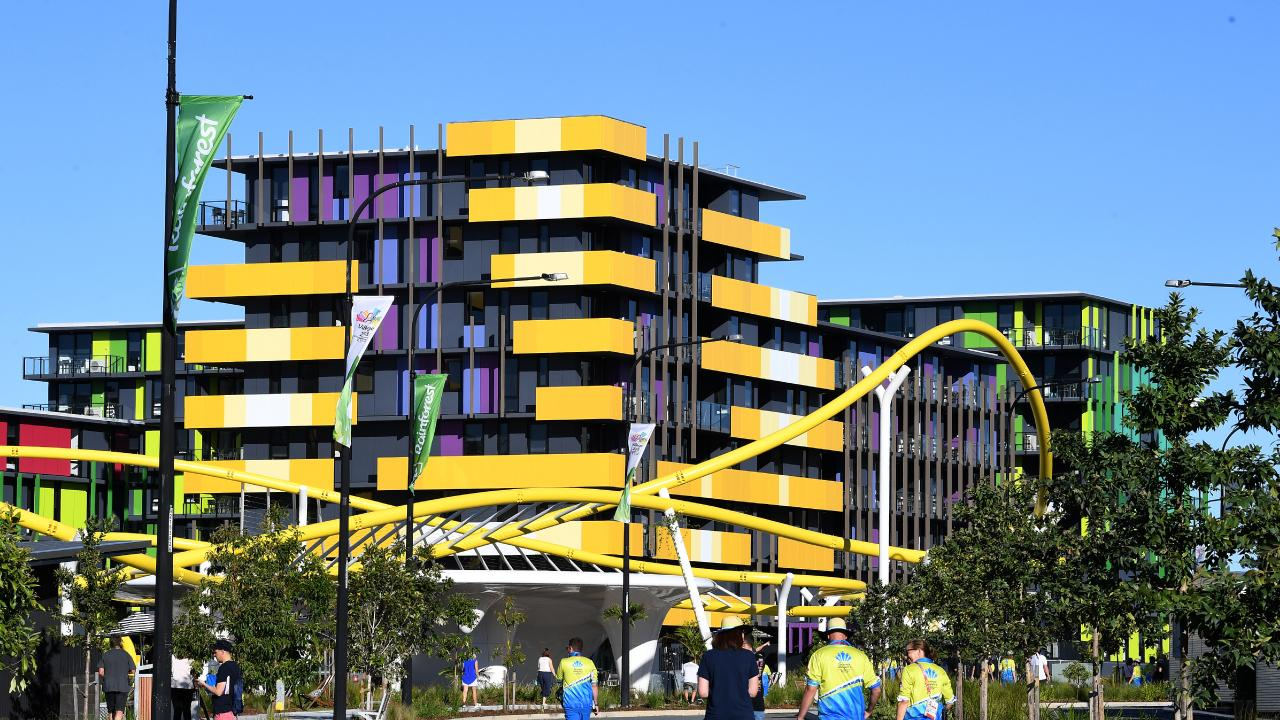 Commonwealth Games athlete's village on the Gold Coast.