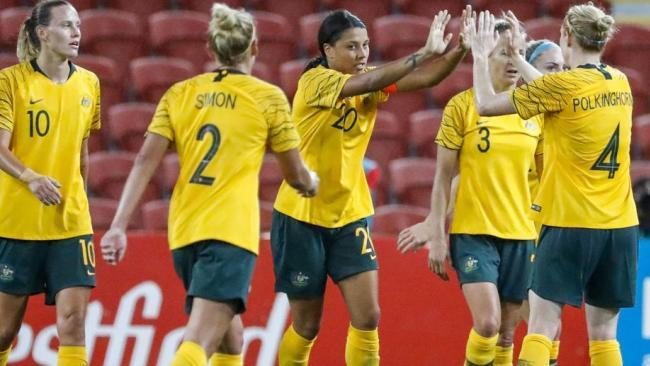 Sam Kerr got on the scoresheet after drawing a blank against the Kiwis