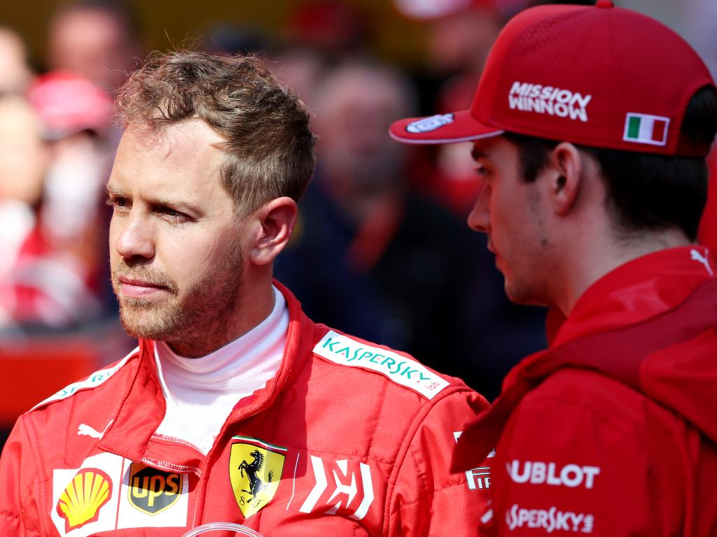 Charles Leclerc and Sebastian Vettel led the way for much of testing.