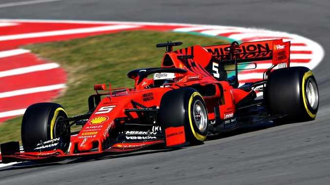 Apart from one crash Sebastian Vettel had reason to leave Barcelona feeling optimistic.