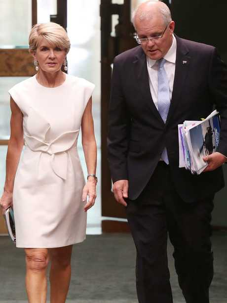 Julie Bishop said she could have won against Bill Shorten. Picture: Kym Smith