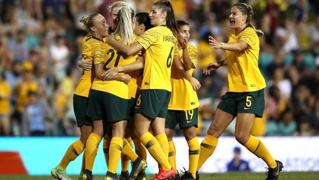 The Matildas will be looking for their second win in the Cup of Nations tonight.