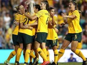 'Like Cahill': Kerr stars as Matildas turn on style