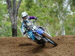 Moto cross action