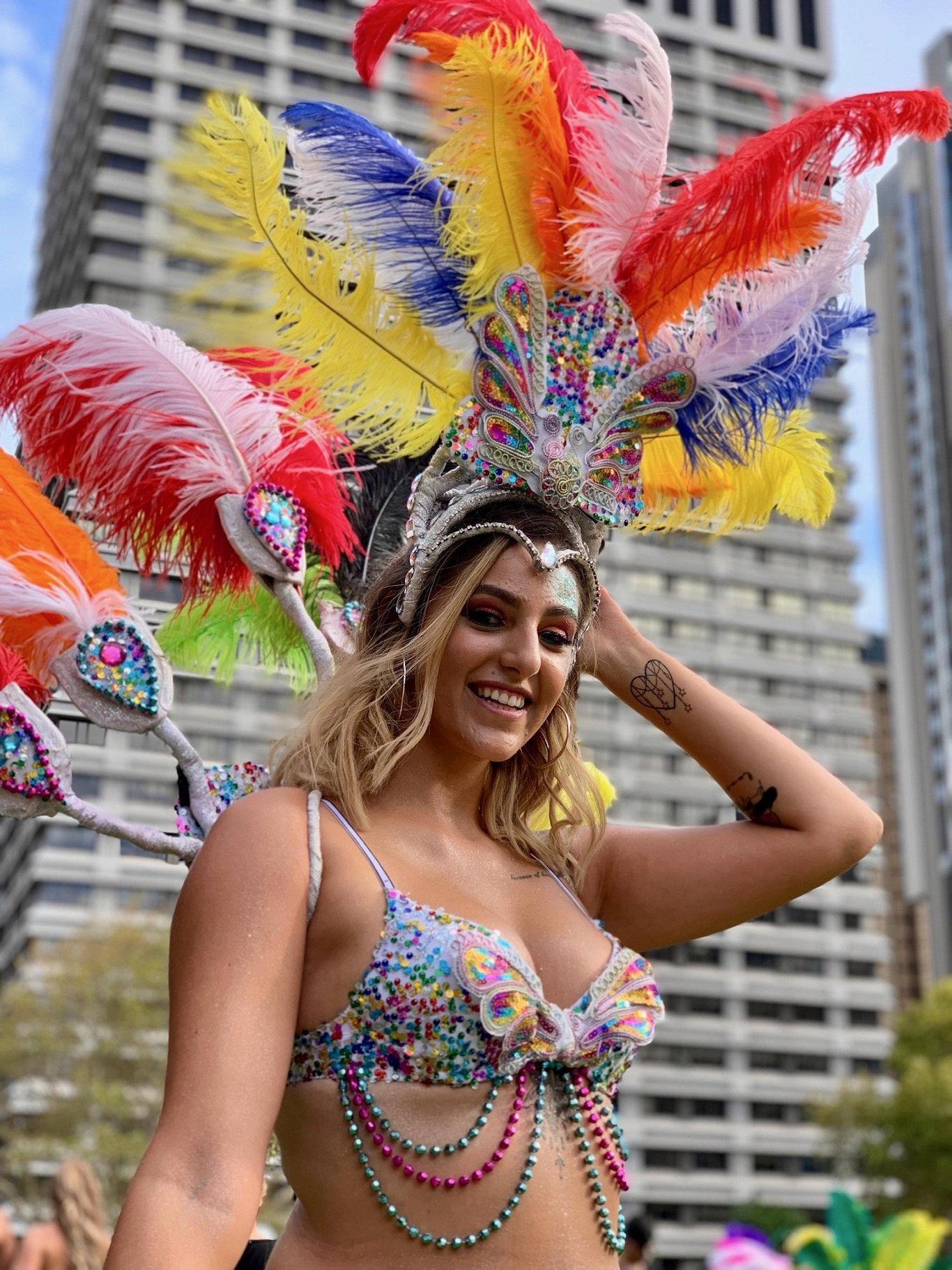 Sydney Mardi Gras Shot on iPhone XS.