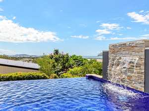 High-tech house with a spectacular view
