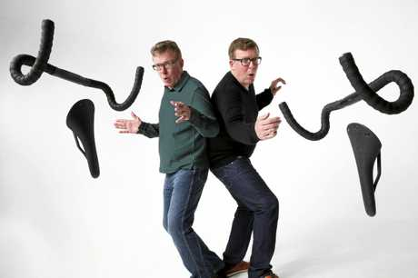 Craig and Charlie Reid, of The Proclaimers.