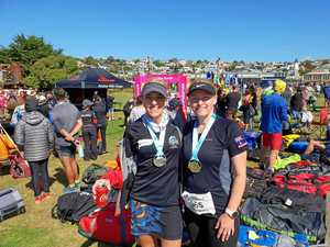 Crozier and Mayne beat 'brutally beautiful' 323km marathon