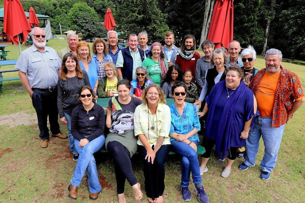 PLANNING: Representatives from across regional Queensland have met at the Bunya Mountains for a weekend of strategy and planning to protect farmland and communities from coal and gas mining.