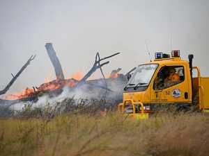 Man hospitalised after Kingaroy blaze