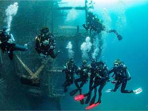 First paying divers get chance to see Tobruk up-close
