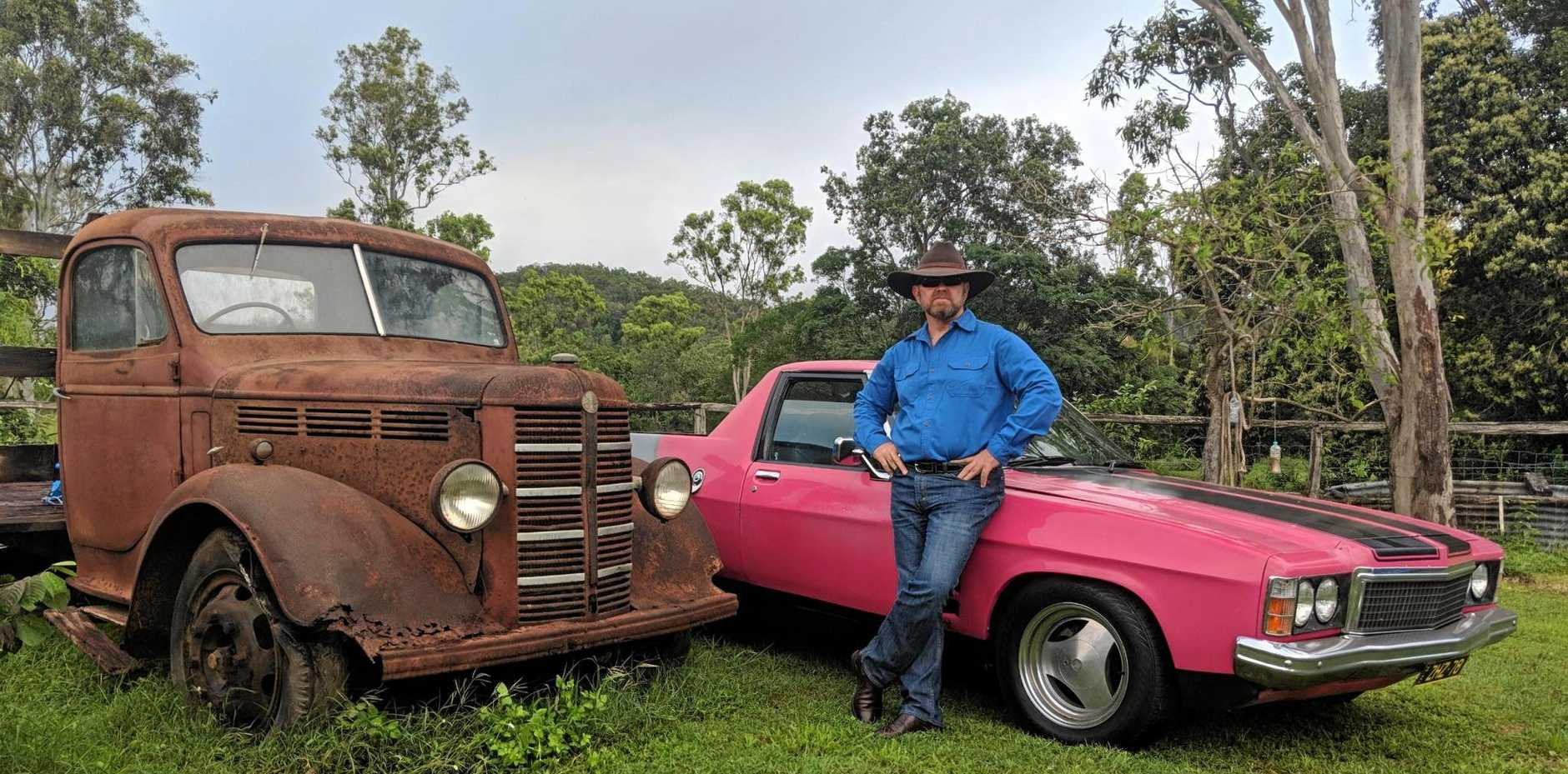 DECISIONS, DECISIONS: Peter 'Ziggy' Zigmantas has to decide which ute to take to the inaugural Sarina Ute Muster in October.