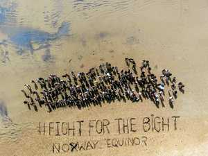 Beach message to prevent troubled waters in Bight