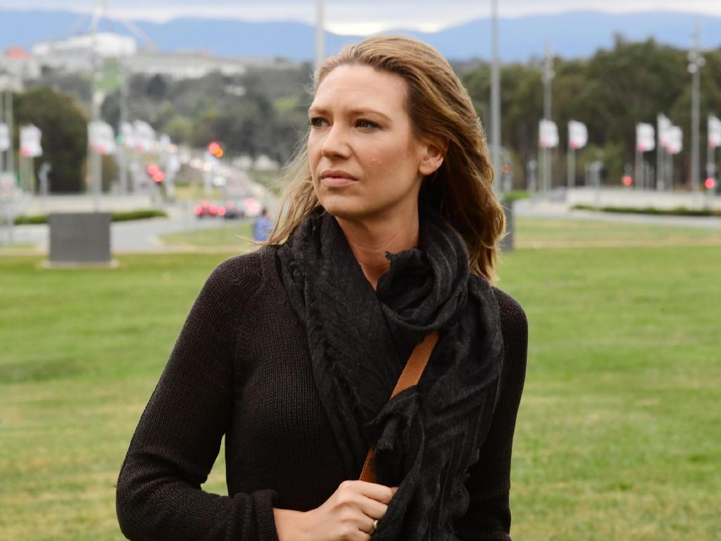 Anna Torv plays journalist turned media adviser Harriet Dunkley. Picture: Foxtel