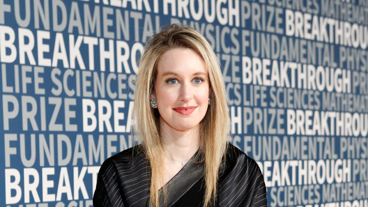 Theranos founder Elizabeth Holmes has been accused of telling increasingly bizarre lies. Picture: Kimberly White/Getty Images for Breakthrough Prize