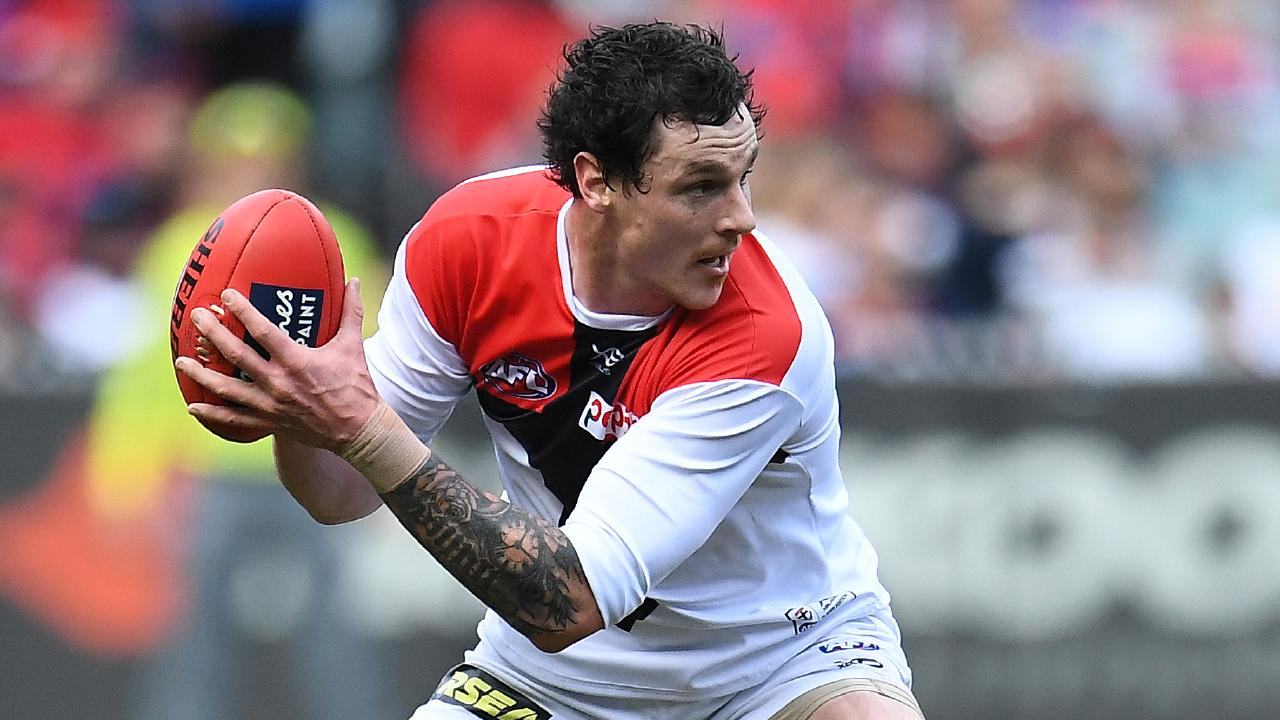 Back surgery is likely for Saints defender Jake Carlisle. Picture: AAP