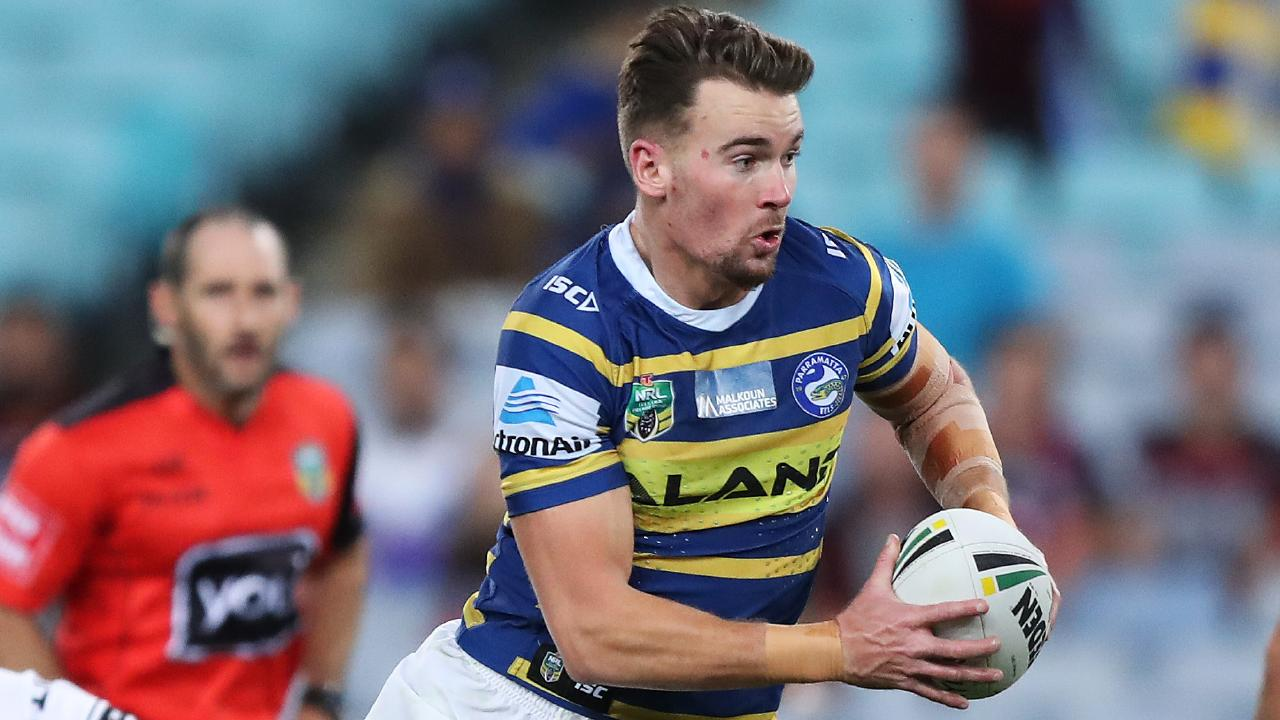 Parramatta's Clint Gutherson looks primed for a big 2019. Picture: Brett Costello