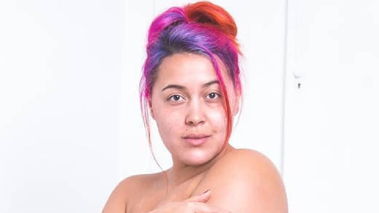 Megan Crabbe — body positivity story. Picture: Megan Jayne Crabbe/Instagram
