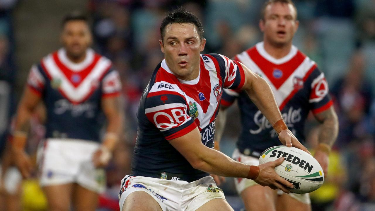 Cooper Cronk's heroics in last year's grand final will go down in NRL folklore. Picture: AAP Image/Daniel Munoz