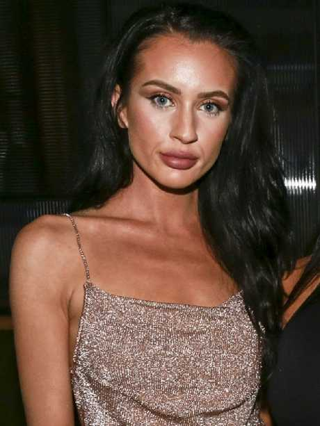 The MAFS contestant is looking a lot healthier recently, but her plumper lips are causing speculation. Picture: Anthony Licuria
