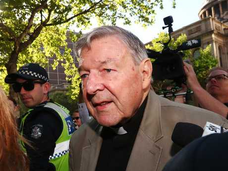 A man is set to sue George Pell after claiming he molested him at a swimming pool in the 1970s. Picture: Michael Dodge/Getty Images