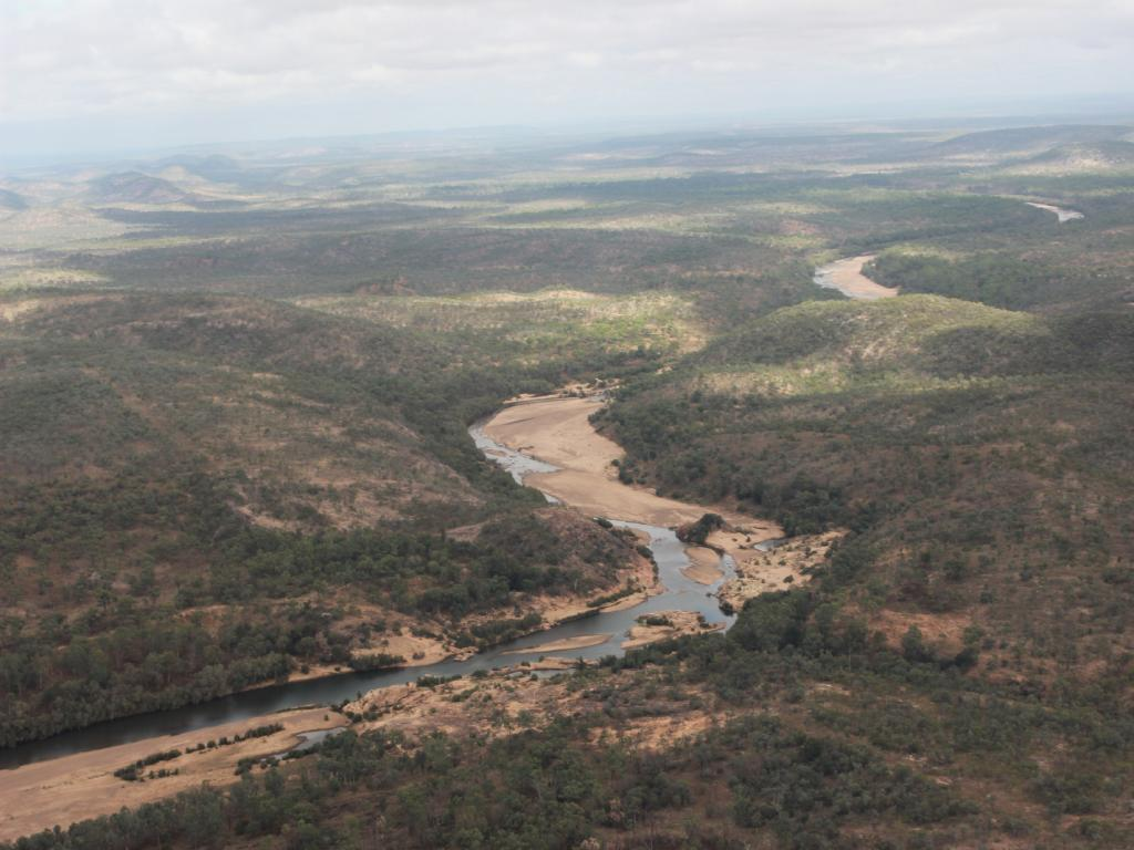 The site of the proposed Hell's Gate Dam. Picture: Supplied