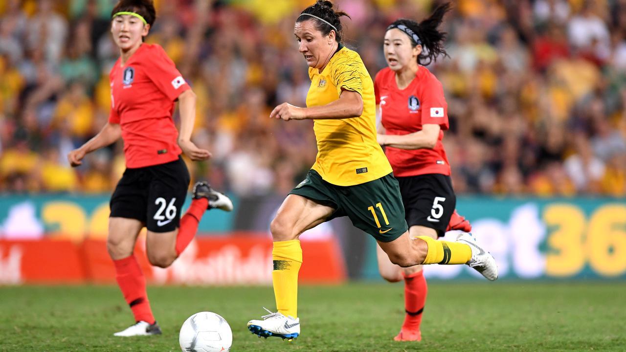 Lisa De Vanna was back to her best against Korea on Sunday night.