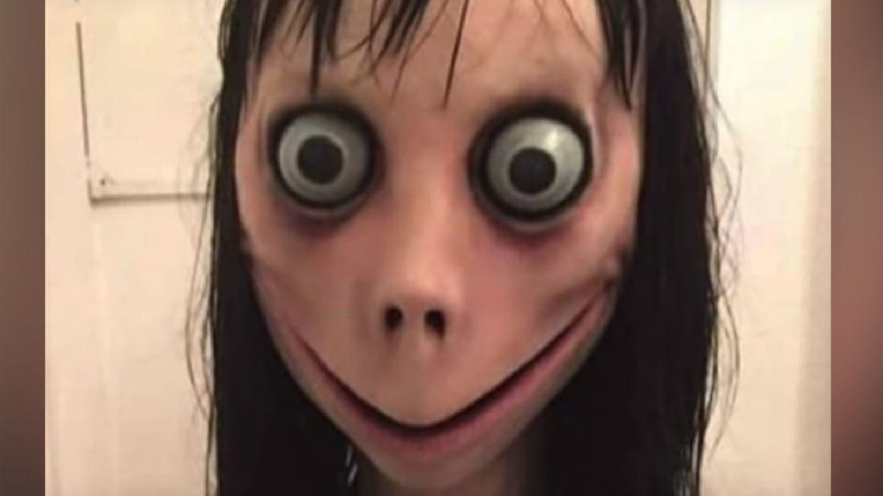 The photo of the Momo avatar being used by some accounts online.